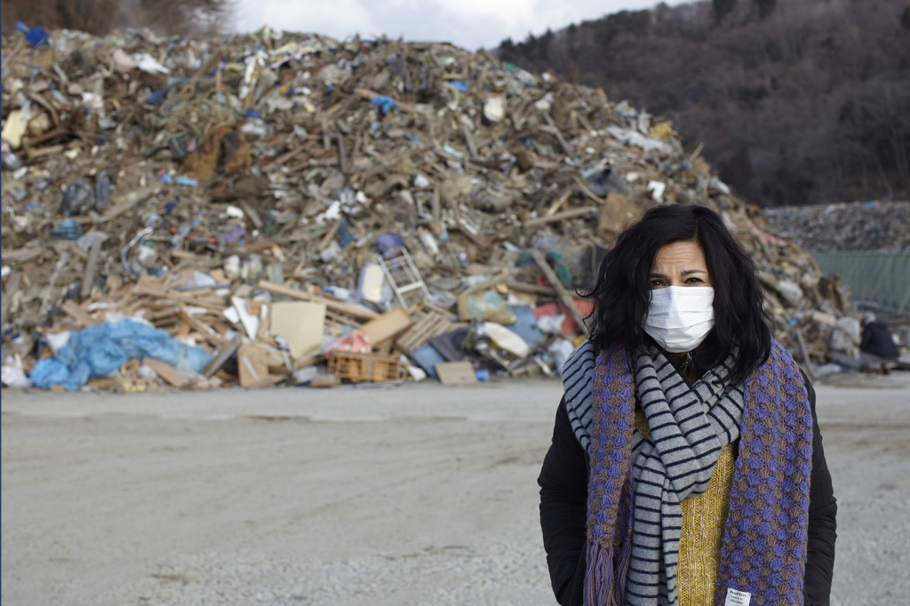 Safia Minney in Japan one year after Fukushima