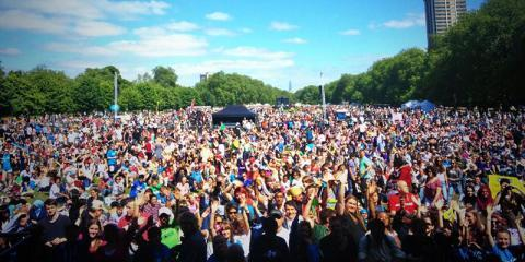 The BigIF Rally at Hyde Park