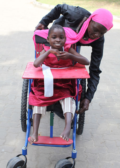 A wheelchair will help this girl go to school and be a part of her community