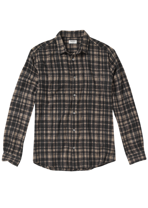 scott brush checked shirt