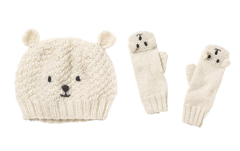 Polar-bear-Hat-and-Mittens
