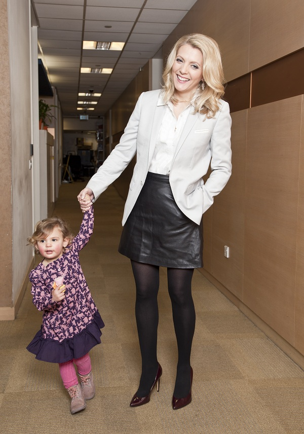 What does Power dressing mean when you're a mum?