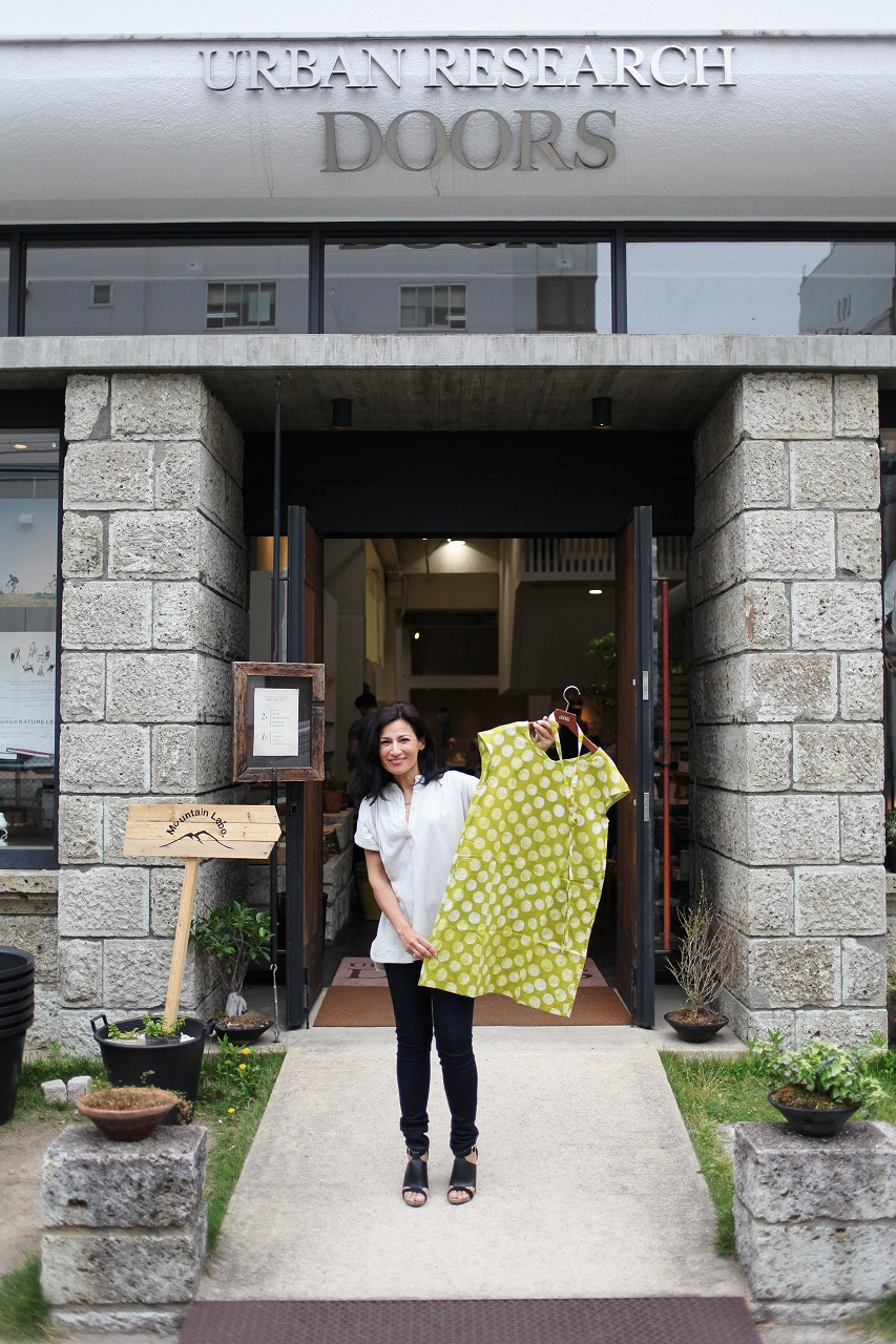 Safia Minney visits Urban Research Doors in Japan
