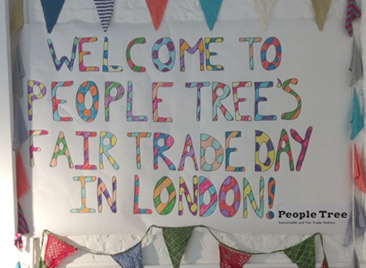 People Tree's Fair Trade Day in London as told by winner Sarah Sakimoto