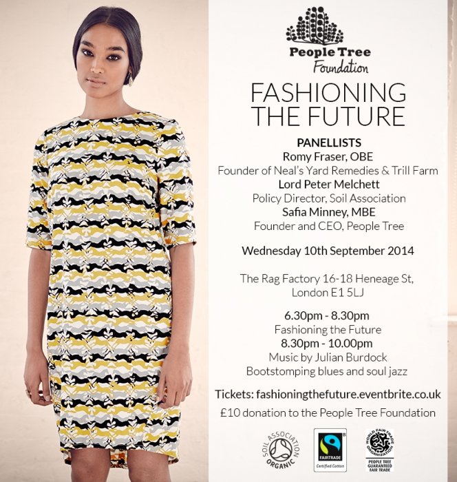Fashioning the Future - People Tree Event for Organic September