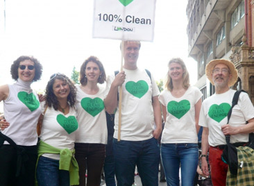 Organic and 100% Clean – Climate March, September 2014