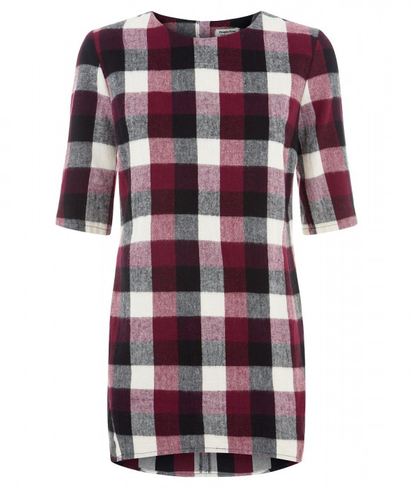 Laura Check Tunic