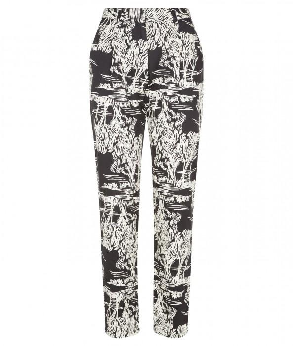 Avery print trousers