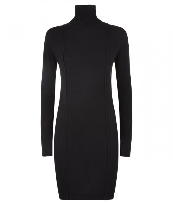 Megan Roll Neck Dress