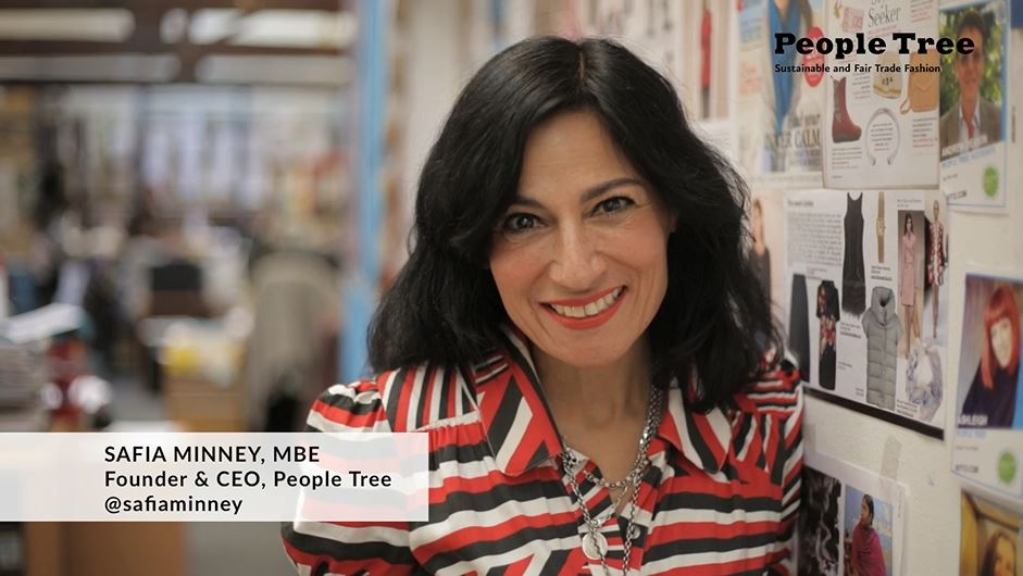 Safia Minney explains why People Tree backs Human Rights Day 2014 #rights365