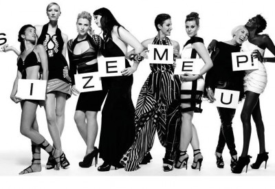 'Size me up' group image -  Nick Knight septermber 2009
