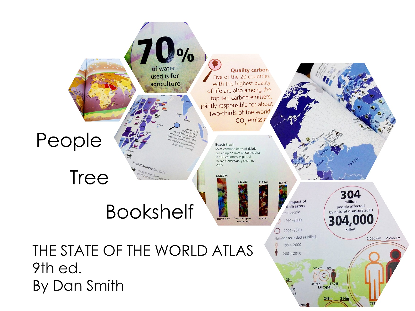 The People Tree Bookshelf: World Problems in Colour