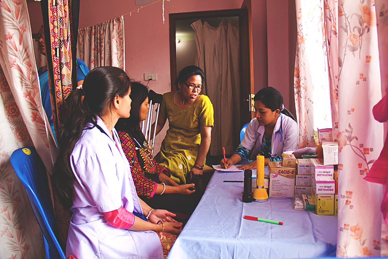 Nepal update – Free Women's health, Eye check up and surgeries camp