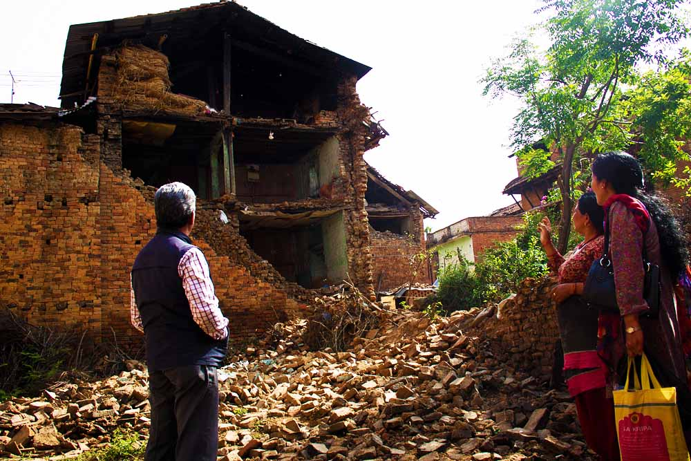 Nepal update- earthquake proofing