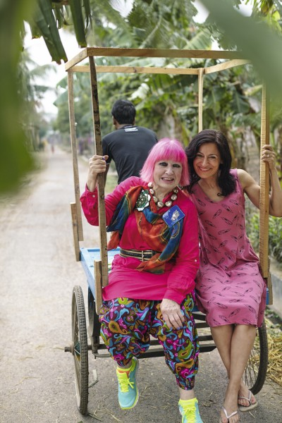 A Conversation with Zandra Rhodes