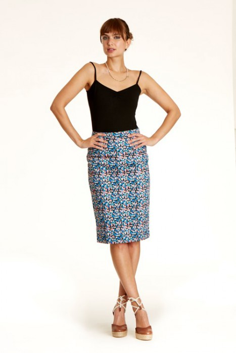 Ripley Pencil Skirt