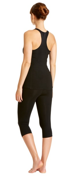 People Tree's Yoga Cropped Leggings