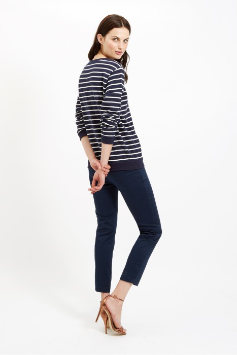 People Tree's Alba Trousers. Made with 97% organic cotton.