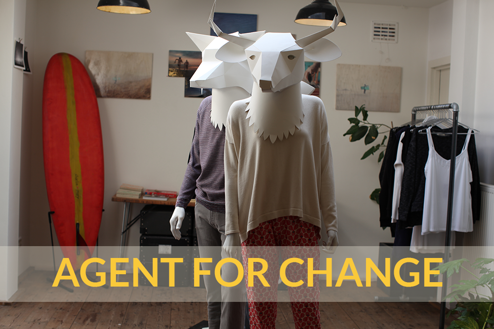 Be an Agent for Change: Charlie + Mary