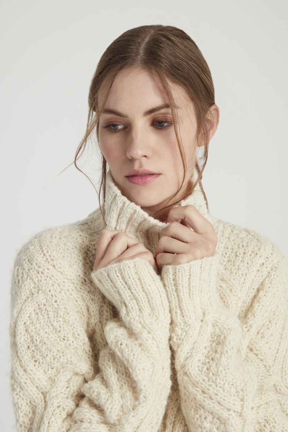 Cable Jumper in Unbleached (http://www.peopletree.co.uk/women/knitwear/cable-jumper-in-unbleached)